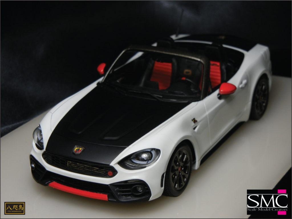 TK-100 1/24 A124 Spider Conversion Kit for Roadster MX-5