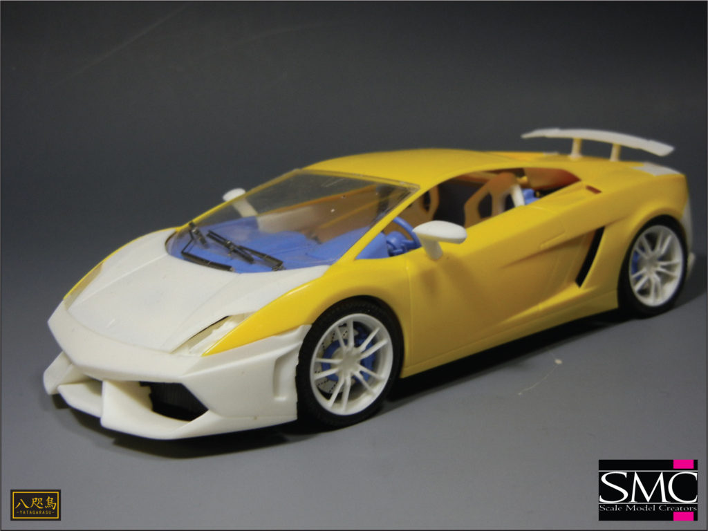 TK-009 1/24 LP570-4 superleggera Conversion Kit