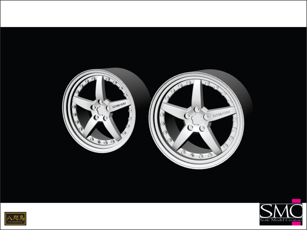 P-010 1/24 Wheel HAMANN PG3